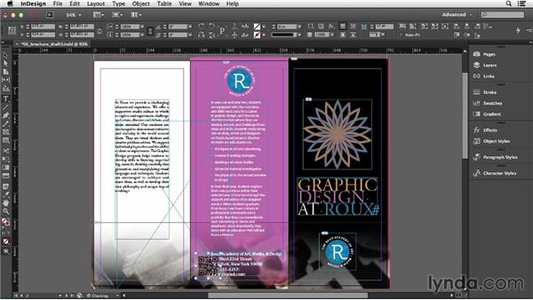 Inserting QR codes and barcodes: InDesign CC Essential Training (2013)