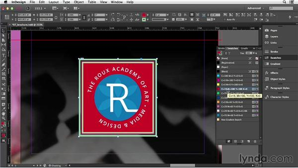 Applying basic strokes and fills: InDesign CC Essential Training (2013)