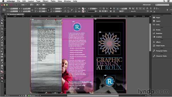 Colorizing images: InDesign CC Essential Training (2013)