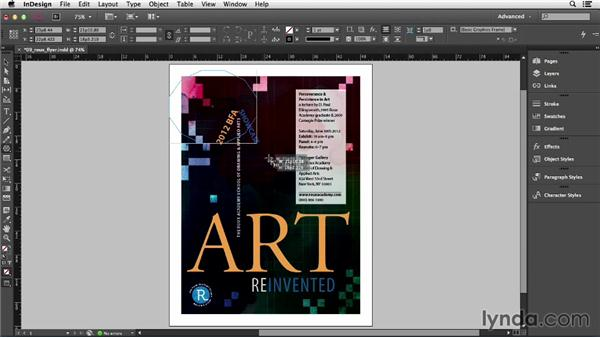 Making polygons and starbursts: InDesign CC Essential Training (2013)