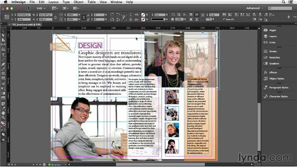 Stacking objects: InDesign CC Essential Training (2013)