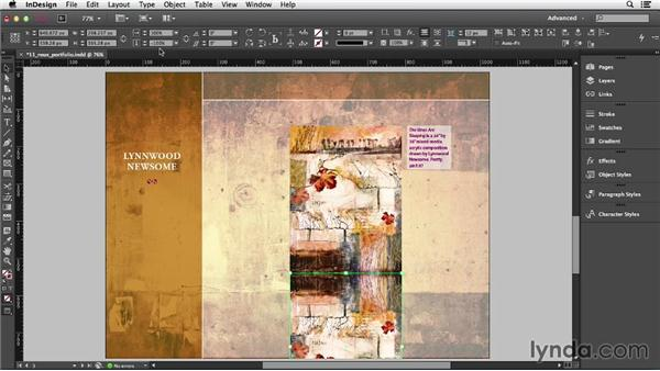 Mirroring objects: InDesign CC Essential Training (2013)