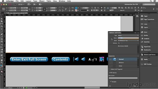 Creating an interactive PDF: InDesign CC Essential Training (2013)