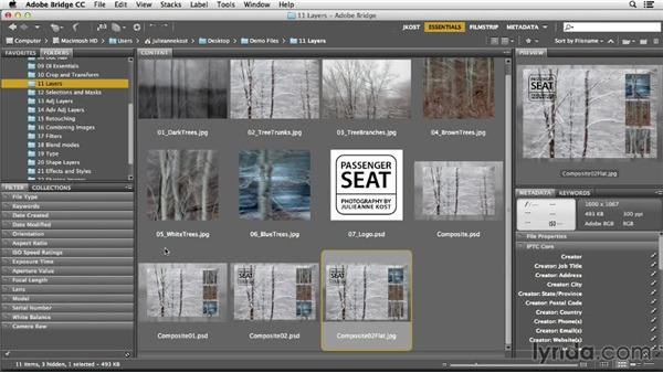 Using the exercise files: Photoshop CC Essential Training (2013)