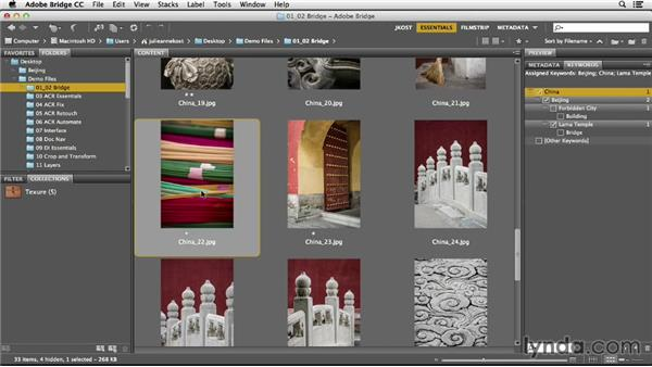 Rating and labeling images: Photoshop CC Essential Training (2013)