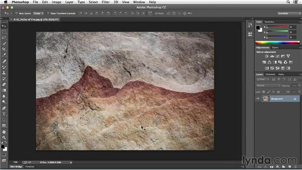Working with tabbed documents: Photoshop CC Essential Training (2013)
