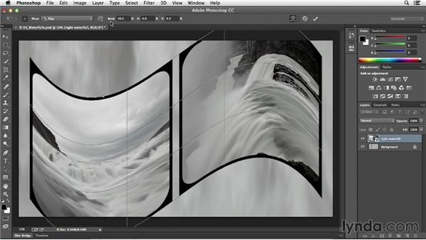 Warping images: Photoshop CC Essential Training (2013)