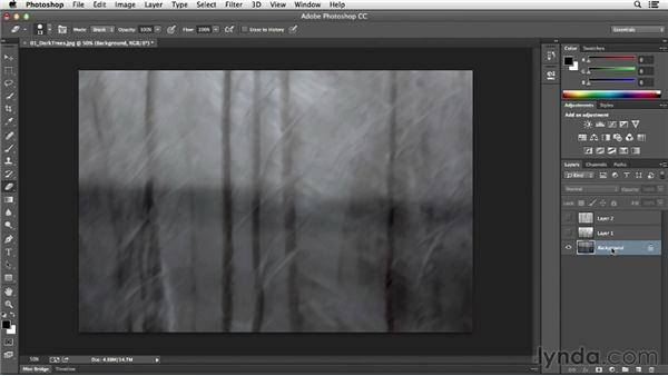 Exploring layer basics: Photoshop CC Essential Training (2013)
