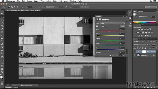 Introducing adjustment layers: Photoshop CC Essential Training (2013)