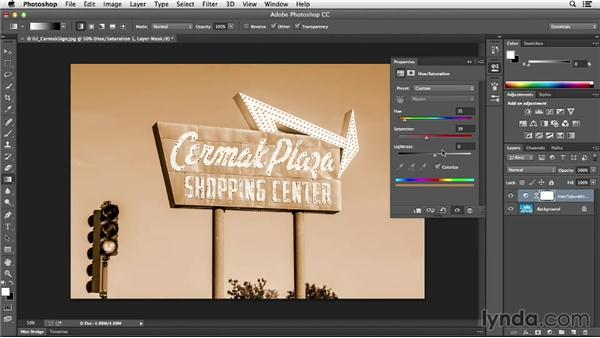 Starting with a preset: Photoshop CC Essential Training (2013)