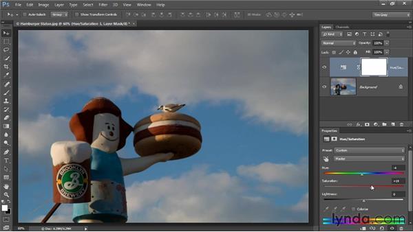 Introduction to adjustment layers: Photoshop CC Image Optimization