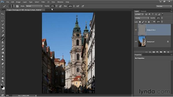 Dodging and burning: Photoshop CC Image Optimization