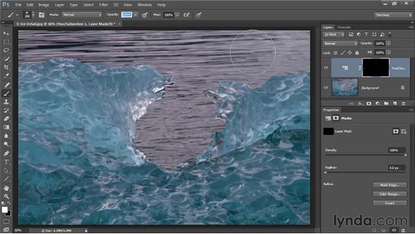 Basic targeted adjustments: Photoshop CC Image Optimization