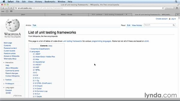 Using unit testing frameworks: Foundations of Programming: Test-Driven Development