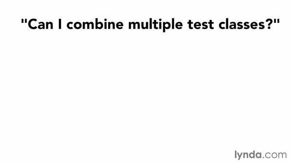 Common questions on individual tests: Foundations of Programming: Test-Driven Development