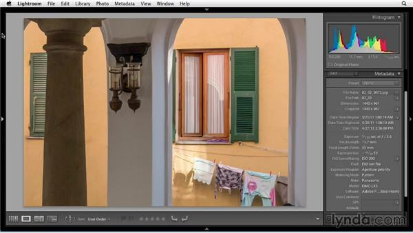 Viewing and sorting photos: Up and Running with Lightroom 5