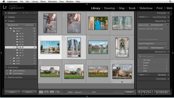 Keywording: Up and Running with Lightroom 5