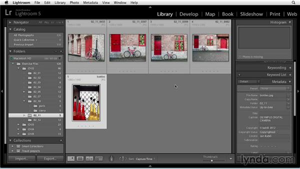Renaming photos: Up and Running with Lightroom 5