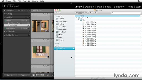 Working with Smart Previews when traveling: Up and Running with Lightroom 5