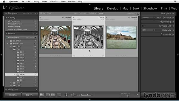 Using virtual copies: Up and Running with Lightroom 5