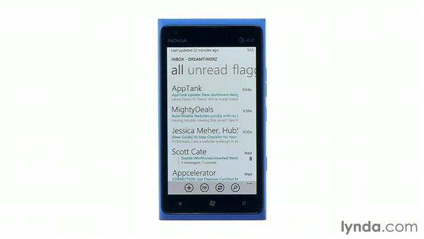 Exploring device capabilities: Windows Phone SDK Essential Training