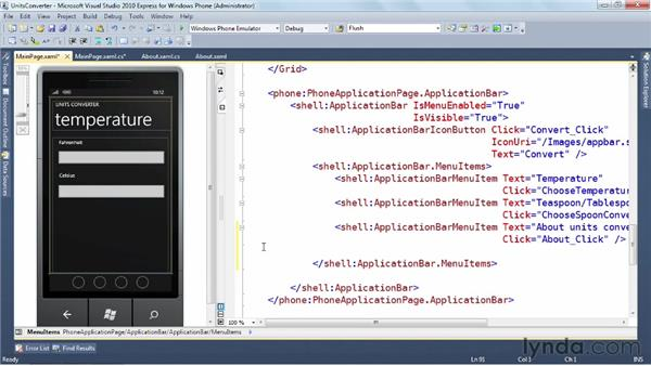 Preparing your app for shipment: Windows Phone SDK Essential Training