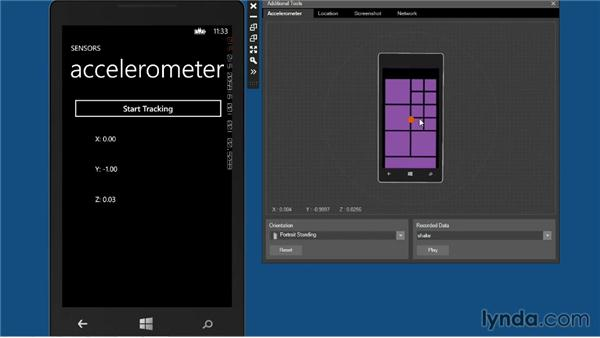 Working with the camera: Windows Phone SDK Essential Training