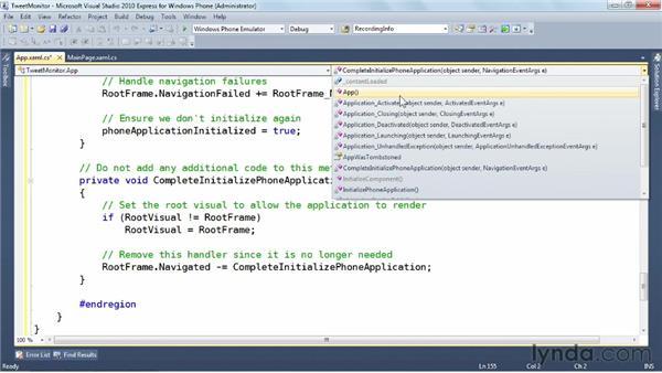 Leveraging Internet Explorer: Windows Phone SDK Essential Training
