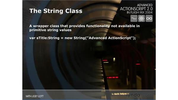 string class: ActionScript 2.0 Beyond the Basics