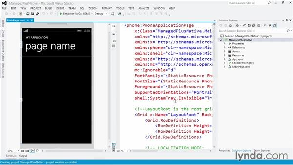 Libraries: Windows Phone SDK Essential Training