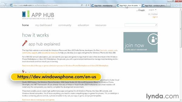 Publishing your apps: Windows Phone SDK Essential Training