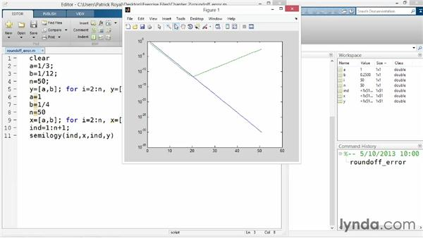 Understanding data types: Up and Running with MATLAB