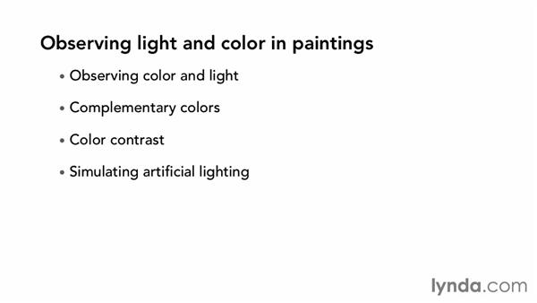 Observing the light and color in paintings: The Art of Color Correction: Artistic Color Grading on the Timeline