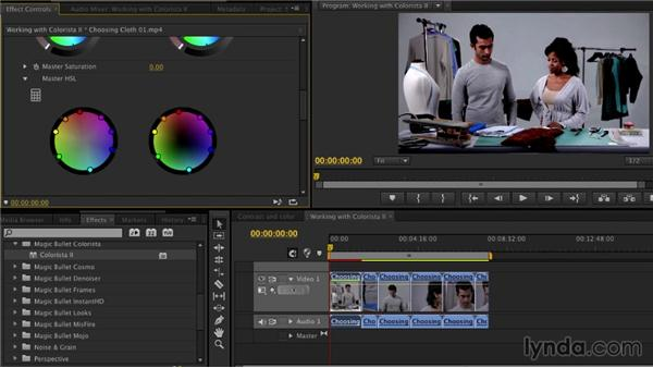 Working with Colorista II: The Art of Color Correction: Artistic Color Grading on the Timeline