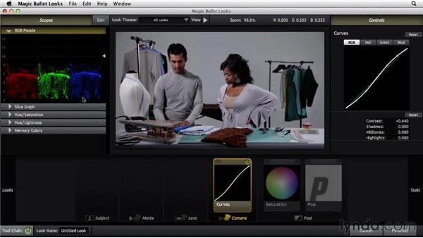 Working with Magic Bullet Looks: The Art of Color Correction: Artistic Color Grading on the Timeline