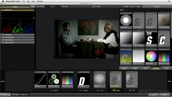 Changing the mood of a scene using light and shade: The Art of Color Correction: Artistic Color Grading on the Timeline