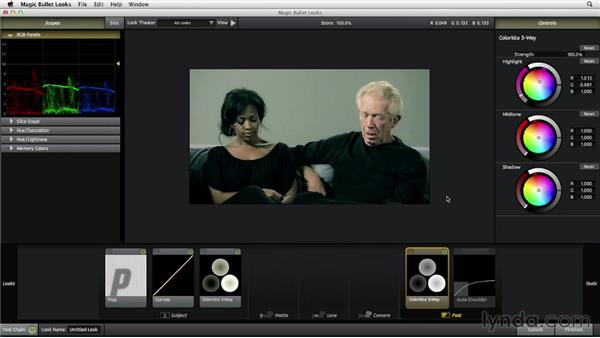 Applying colors to complement skin tones: The Art of Color Correction: Artistic Color Grading on the Timeline