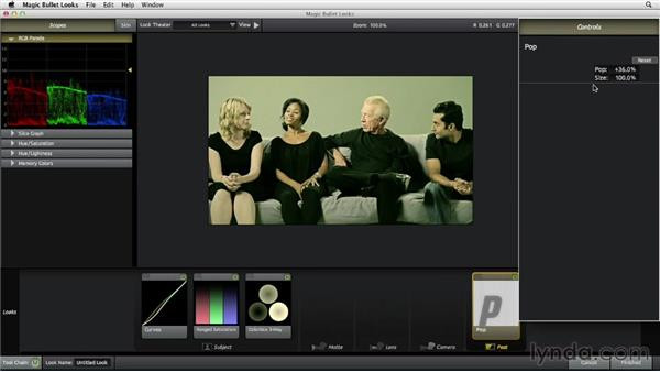 Creating a thriller look inspired by Hopper: The Art of Color Correction: Artistic Color Grading on the Timeline