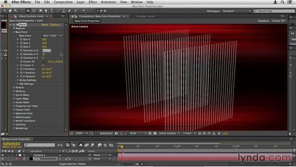 Altering Base Form properties: Up and Running with Trapcode Form