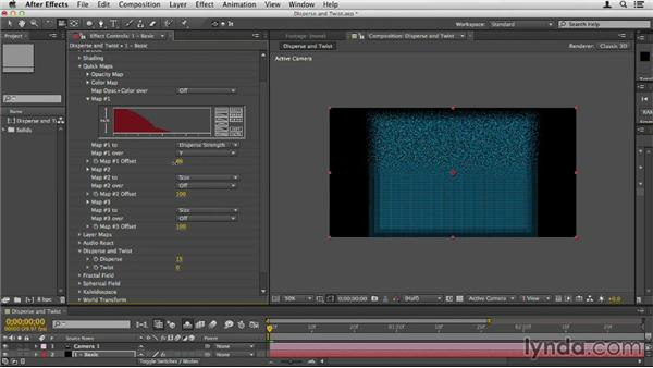 Dispersing and twisting particles: Up and Running with Trapcode Form