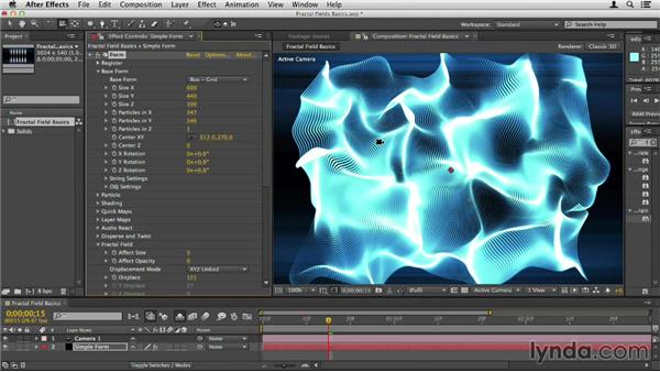 Understanding Fractal Fields: Up and Running with Trapcode Form