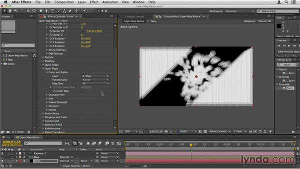 About Layer Maps: Up and Running with Trapcode Form