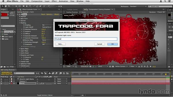Casting shadows from particles: Up and Running with Trapcode Form