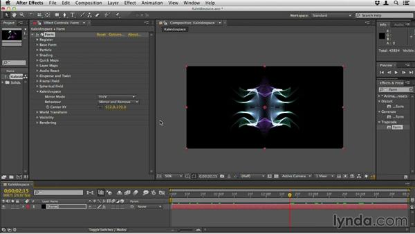 Using Kaleidospace: Up and Running with Trapcode Form