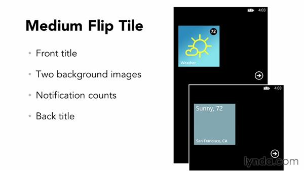 What is the flip tile?: Building Windows Phone 8 Live Tiles