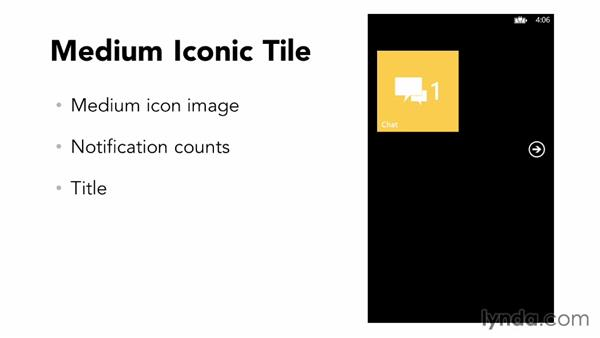 What is the iconic tile?: Building Windows Phone 8 Live Tiles