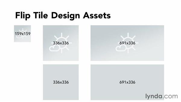 Building design assets for flip tiles: Building Windows Phone 8 Live Tiles