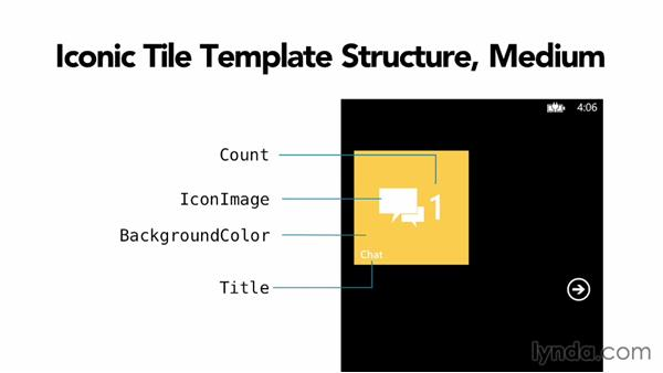 The iconic tile template: Building Windows Phone 8 Live Tiles