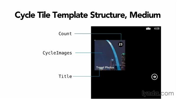 The cycle tile template: Building Windows Phone 8 Live Tiles