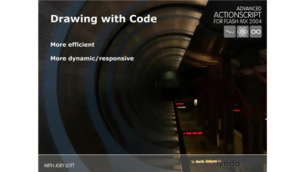 drawing with code: ActionScript 2.0 Beyond the Basics